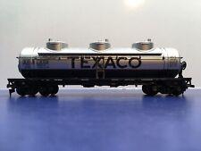 "HO Scale ""Texaco"" TCX 270 Triple-Dome Tanker Freight Train Car / Athearn"