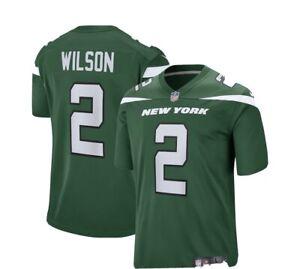 Nike NFL On-Field XL Green Jersey Zach Wilson Jets NEW UNOPENED NWT XL