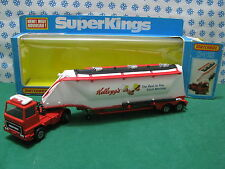 "GRAIN  TRANSPORTER  "" Kellogg's Snap Crackle ""  - Matchbox SuperKings  K-3  MIB"