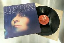 JUDY COLLINS Who Knows Where The Time Goes Vinyl Lp record USA G/Fold W/Inner