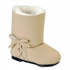Käthe Kruse Puppen Kleidung Schuhe Stiefel beige für Puppen mit 6 cm Füße 41265