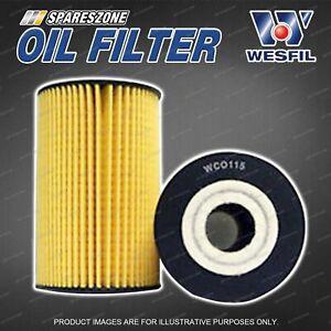 Wesfil Oil Filter for Hyundai Accent RB Genesis DH Hyundai i30 FD GD PD i40 VF
