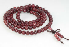 8mm 108PCS Natural Purple Rosewood. Mala Meditation Loose Beads Round 33""