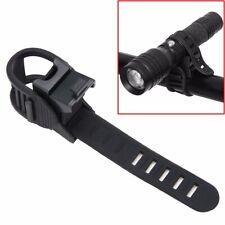 360° Verstellbar Grad Schwenker Taschenlampe Halterung für Fahrrad Clip