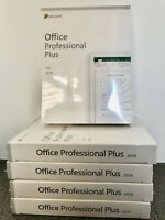 Microsoft Office Professional Plus 2019  - 32/64 Bit - Brand New & Sealed