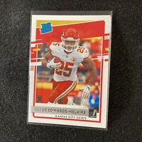 2020 Donruss Football Clyde Edwards-Helaire Rated Rookie Card RC #321 KC Chiefs