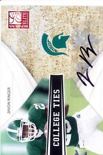 javon ringer rc rookie draft auto autograph spartans msu elite college #/50 2009