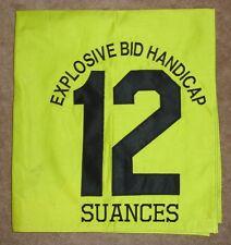 SUANCES Saddle Cloth Explosive Bid Handicap Fairgrounds (Mervin H. Muniz, Jr.)
