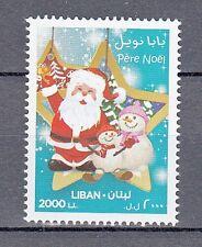 LEBANON- LIBAN MNH SC# 702 CHRISTMAS SANTA - 2013 PERE NOEL