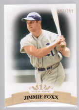 2011 Topps Tier One #60 Jimmie Foxx Base Card #/799