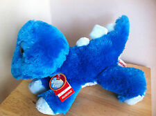 "DREAMY EYES STEGOSAURUS  - SIZE 12"" BLUE"