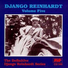 DJANGO REINHARDT -  Vol. 5 The Definitive Series (RARE OOP UK Import JSP CD 349)