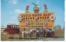 Dutch Haven Barn - Lancaster, PA - Advertisement  - Amish