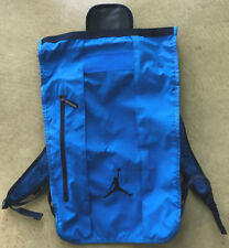 AIR JORDAN BACKPACK BLUE TOP LOADER BAG
