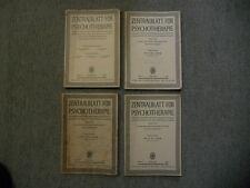Zentralblatt fur Psychotherapie und ihre Grenzgebiete (4 Volumes: Band 5 (47), B