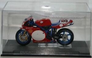 Ben Bostrom Ducati 996R 2002 IXO Motorbike Model - Rare