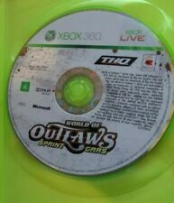 WORLD OF OUTLAWS SPRINT CARS XBOX 360 ORIGINAL AUS PAL CASE & DISC ONLY