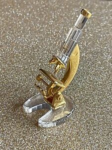 Swarovski Gold Microscope