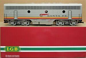 LGB 20582 Santa Fe F7B Diesel Locomotive w/Sound G-Gauge LN
