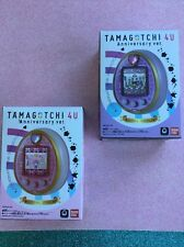 Tamagotchi 4U Anniversary PINK PURPLE SET (2) Used *English Menu * SHIP FAST USA