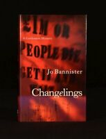 2000 Changelings Jo Bannister First Edition First Impression Castlemere Mystery