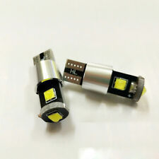 2 Xenon White T10 CREE LED Bulbs For Car Parking Positon Lights 168 194 2825 W5W