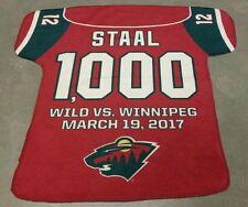 Eric Staal - 1,000 NHL Games - Minnesota Wild - Rally Towel