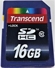 Transcend 16 GB SDHC Class 10 Flash Memory Card