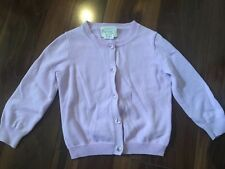 girls CREWCUTS lavendar CARDIGAN sweater BUTTON DOWN jewels PURPLE  size 2T 2