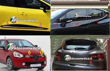 8 Finestrini +1 Portabagagli - 4 Porte + 2 Griglie acciaio Cromo RENAULT CLIO IV