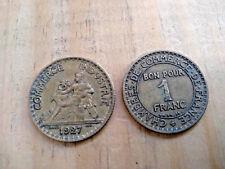 1 FRANC 1927 CHAMBRE DE COMMERCE