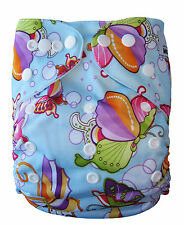 Modern Reusable Washable Baby Cloth Nappy Nappies & Insert, Buterfly