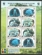 STAMPS-KYRGYZSTAN. 1999. WWF 40th Anniversary Sheetlet. SG: 240/43. MNH