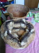 Sarah Spencer Colln : Soft Pet Bed with Basket : suitable Cat or Small Dog