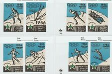 Italy Cortina Olympic 1956 Winter Games stamp 7-30-21 - mnh no gum as issued-