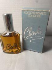 Vintage Revlon Charlie Concentrated Cologne 2 1/4 oz.