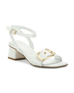NEW  Size 39 NAPOLEONI Made In Italy Leather Sandals With Gold Hardware