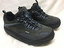 Pre Owned Womens MBT Chapa Toning Shoes Dark/Light Gray Sz 9 US
