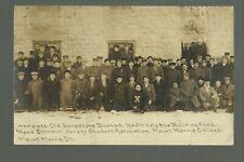 Mt. Morris ILLINOIS RP 1912 HOMELESS STUDENTS Fire Raising Money C.R. CHILDS