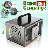 35000mg/hr Ozone Generator Machine Air Purifier Smoke Ioniser Cleaner Deodoriser