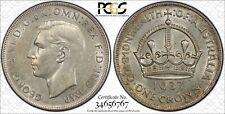 Australia 1937 Crown PCGS AU55 (Lot 0178)