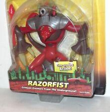 ✰ 2004 ** RAZORFIST MOC 2005 ISSUE ** RAZOR FIST TEENAGE MUTANT TMNT C8.5+