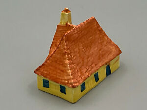 Bizarre by Clarice Cliff Handpainted Art Deco Vintage Red Roof Cottage.Unusual.