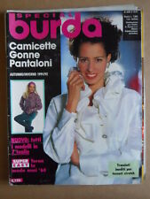 BURDA Special n°15 1991 M2018 con cartamodelli  [C54]