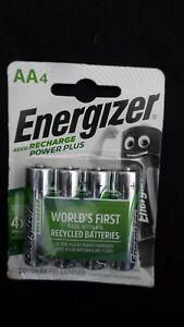 AA Energizer 2000 mAh ACCU Recharge Power Plus Batteries