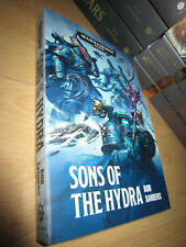 Rob Sanders SONS OF THE HYDRA 1st/PB MINT Warhammer 40K Alpha Legion novel