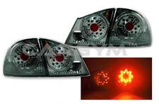FULLY SMOKE LED TAILLIGHT REAR LAMPS FOR ACURA CSX / HONDA JDM CIVIC 2006+