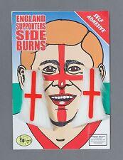 England St George Cross Sideburns Football Fan Fancy Dress Accessory P8976