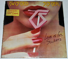 Philippines TWISTED SISTER Love Is For Suckers LP Record