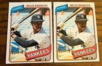 1980 Topps #460 Willie Randolph - Yankees
